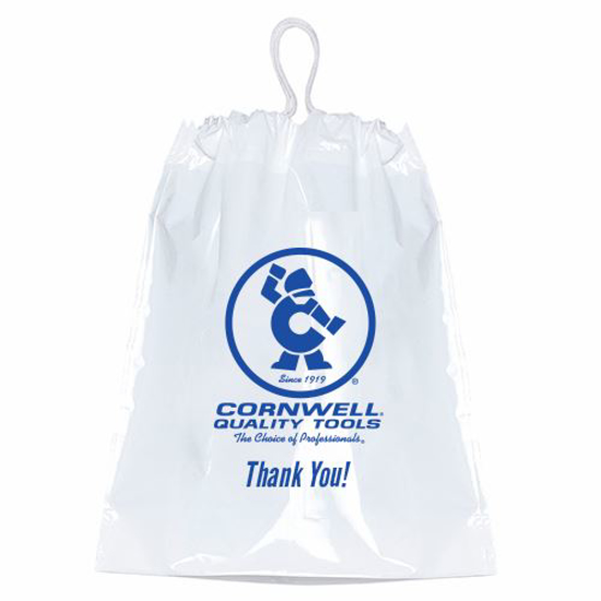 Picture of Plastic Drawstring - CW Thank you