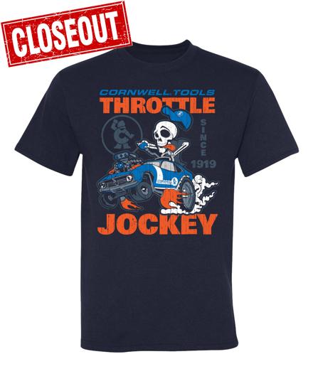 Picture of Navy Throttle Jockey T-Shirt